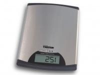 Schlanke Edelstahl-Küchenwaage, 1g-5kg, mit Tara-Funktion LCD Anzeige Scale
