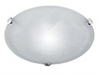 TRIO Deckenleuchte / Deckenschale rund, 1 x E27, Ø 30cm, Glas weiss