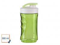DOMO Ersatzbehälter Ersatzflasche für Smoothie Maker Mixer DO436BL 300ml grün