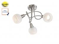 LED Deckenleuchte Rondell Lampenschirme Glas, Deckenlampe Strahler Wohnzimmer
