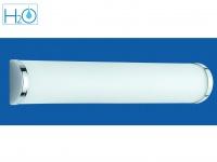Badezimmerlampe Spiegelleuchte IP21 3 x E14 Fassung Glas opal Trio Leuchten