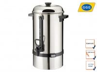 Gastro Kaffeemaschine Kaffeebereiter, 6 Liter, 1500 W, Rundfilter Kaffeeautomat