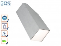 Design Außenwandleuchte Wandlampe IMOLA, 3 Watt High-Power-LED, IP54