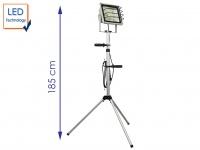 LED Fluter 50W mit Stativ, IP65, Baustrahler, Arbeitsleuchte Strahler Baulampe