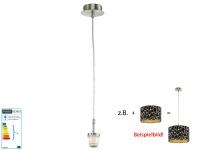 Gestell Abhängung für Shine-Loft Modular Schirm, Hängelampe Fischer-Leuchten