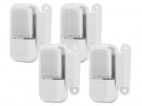 4er SET LED Schubladenleuchten (batteriebetrieben) mit Magnetschalter