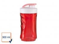 Ersatzflasche geruchsneutral 300ml Rot für Smoothie Maker Stand Mixer DO434