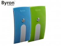 Wechselcover grün und blau für Byron Funk Türklingeln BY504, BY514E & BY535E