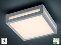 Decken-/Wandleuchte NEWA, Alu titan, inkl. 13, 5 W LED, 1000 Lm, 30cm