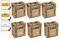 SMOKE IT ALL BBQ-Family Six Pack Räuchermischung m. Gewürzen 6 x 800g