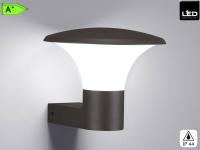 LED Außen-Wandleuchte KONGO, anthrazit, inkl. 1 xE27, 4Watt, H.: 22cm