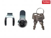 Briefkastenschloss Schloss für Toolland Postkasten mit 2 Schlüsseln, Ersatzteil