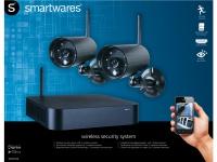 Schnurloses Sicherheits-System mit 2 Outdoor-Kameras, APP für IOS/Android