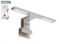 2flammige LED Badleuchte Spiegelleuchte Badezimmerlampe Feuchtraumleuchte Chrom