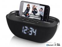 Tristar Uhrenradio Bluetooth, USB-Anschluss, PLL-Tuning, Snooze-Funktion