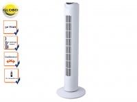 Turmventilator mit Fernbedienung, Timer Funktion, oszillierend, 3 Stufen, Globo