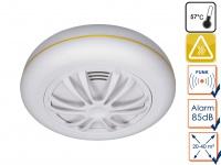 Funkvernetzbarer Hitzemelder Wärmemelder für ELRO Connects System - für Küche