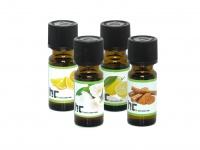 Duftöl Set / Aromaöl mit 4 Düften - Zitrone, Orange, Jasmin, Zimt je 10ml