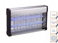 Insektenvernichter 2 UV-Lampen á 20 Watt Wirkungskreis bis 150 m² Mückenfalle