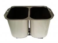 Doppelbackform für 2 kleine Brote DOMO Brotbackautomaten B3990 / B3955