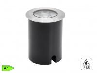 High Power LED Bodeneinbaustrahler, Ø 11 cm, 480Lm, IP65, bis 1500kg