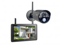 IP Überwachungskamera Set mit Aufzeichung & Monitor, Handy Überwachungs App