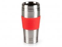 Thermobecher, Rot, 400ml, Kaffeebecher zu DO438K, Isolierbecher Travel Mug