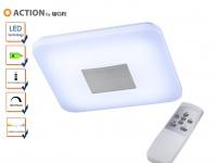 LED Deckenleuchte dimmbar, inkl. FB, Nachtlicht, Action by Wofi