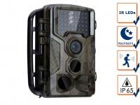 Wildkamera Überwachungskamera mit IR Nachtsicht & Full HD, Jagdkamera Fotofalle