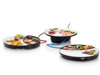 Besonderer Tischgrill elektrisch 2 x 250W Keramikbeschichtung leichte Reinigung