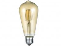 Nicht dimmbares LED Leuchtmittel mit 6W, 420lm warmweiß & E27 Fassung Kolbenform