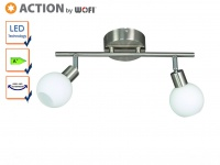 LED Deckenstrahler / Deckenleuchte Spots schwenkbar, Action by Wofi