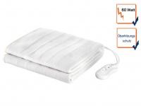 Elektrische Unterdecke für 1 Person, Heizdecke Synthetik 150x70cm, Wärmetherapie