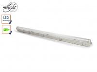 Wasserfeste T8 LED Deckenleuchte 18 Watt, ideal für Keller, Garage, Hobbyraum