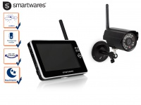 Überwachungskamera Outdoor mit 7Zoll Touchscreen, Nachtsicht und Bewegungssensor