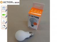 LED Leuchtmittel E27 Glühbirne, 7 Watt / 660 Lumen Warmweiß, dimmbar, A+