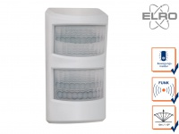 Haustier Bewegungsmelder 10m / 110° Smart Home ELRO AS8000 Alarmsystem mit App