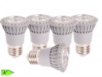 5-er Set LED-Reflektor E27, 5 W ersetzt 50 W, 345 lm, 38 Grad. warmw.