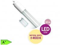 LED Röhre T8 G13 10W 60 cm 850 Lm kaltweiß inkl.Dummy Starter XQ-lite