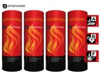 4er-Set Feuerlöschspray für Entstehungsbrände Haushalt Auto, Camping