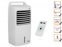 Turmventilator mit Kühlung 10L Timer & Fernbedienung oszillierend 3Stufen Lüfter