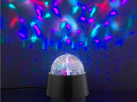 LED Tischleuchte Discokugel mit Motor, Disco Effekt, Action by Wofi