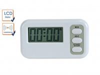 Digitaler Timer mit Countdown Funktion und Alarm, Set Timer Saunauhr Küchentimer