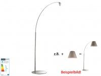 Gestell für Schirme Shine-Loft-Modular, Bogenleuchte, Fischer-Leuchten