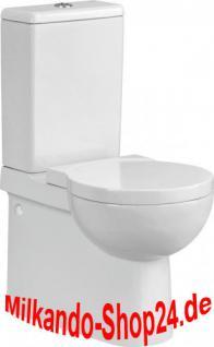 Design Stand Wc komplett set Spülkasten KERAMIK Abfluss:waagerecht / senkrecht - Vorschau 1