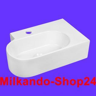 Design Keramik Aufsatzwaschbecken Waschbecken Waschtisch Waschschale Bad Kr 607