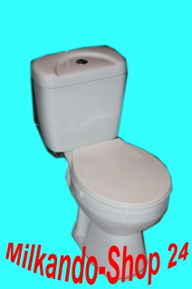Stand Wc Toilette Stand komplett set inkl. Spülkasten Keramik Inkl. Sitz
