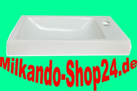 Spülstein Waschbecken Waschtisch Keramik Waschbecken Gäste WC Rimi 1