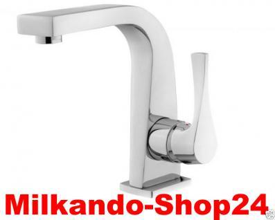 Design Einhandmischer Bad Badezimmer Wasserhahn Chrom Waschtisch Armatur SE1