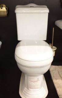 Nostalgie Retro Wc Toilette Stand komplett set inkl.Spülkasten KERAMIK Inkl.Sitz - Vorschau 2